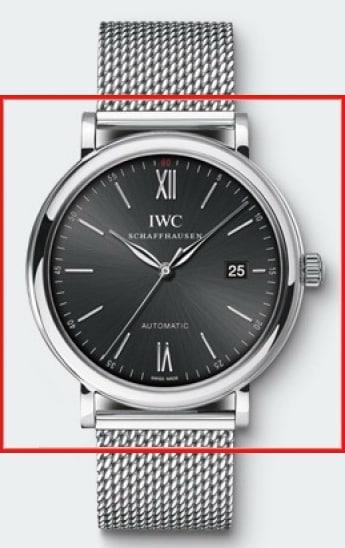 IWC Portofino 356506 Portofino Aut. Stahl Stahl Schwarz