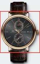 IWC Portofino 361004 Portofino Dual Time 18kt