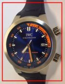 IWC Aquatimer 3548 Stahl + Kautschuk